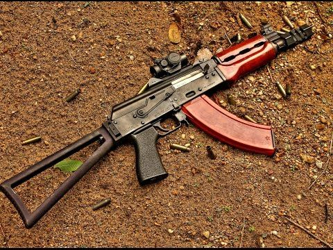 ▶ Zastava M92 PAP SBR - Manticore Arms Triangle Stock - YouTube