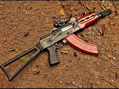 ▶ Zastava M92 PAP SBR - Manticore Arms Triangle Stock - YouTube
