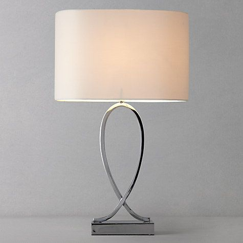 John Lewis New Tom Table Touch Lamp Chrome Online At Johnlewis