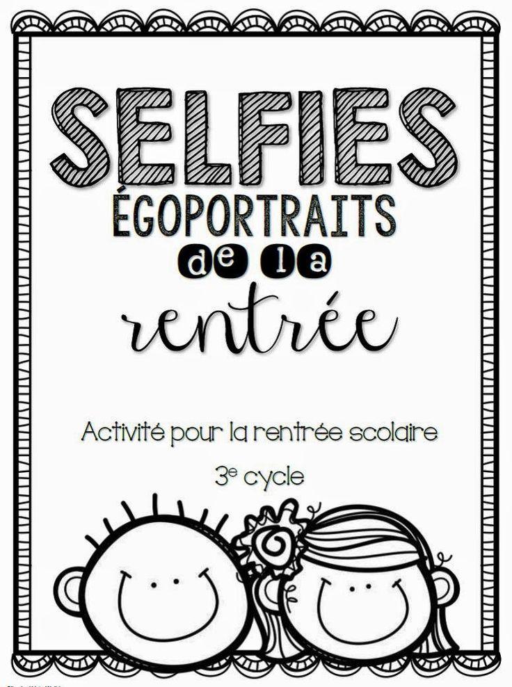 Activité pour la rentrée scolaire http://laclassedekarine.blogspot.ca/