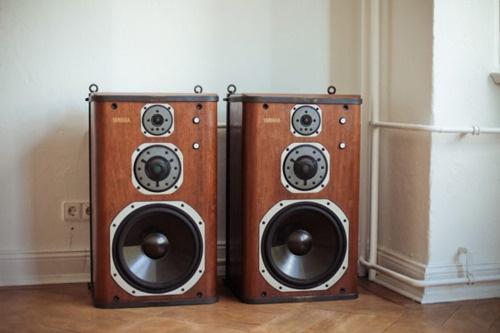 Old School Big Speakers Audio Electronics Pinterest