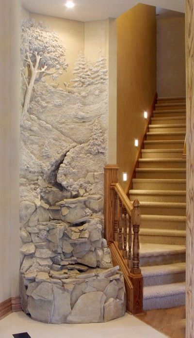 Plaster Art Wall : Front doors, Galleries and Plaster on Pinterest