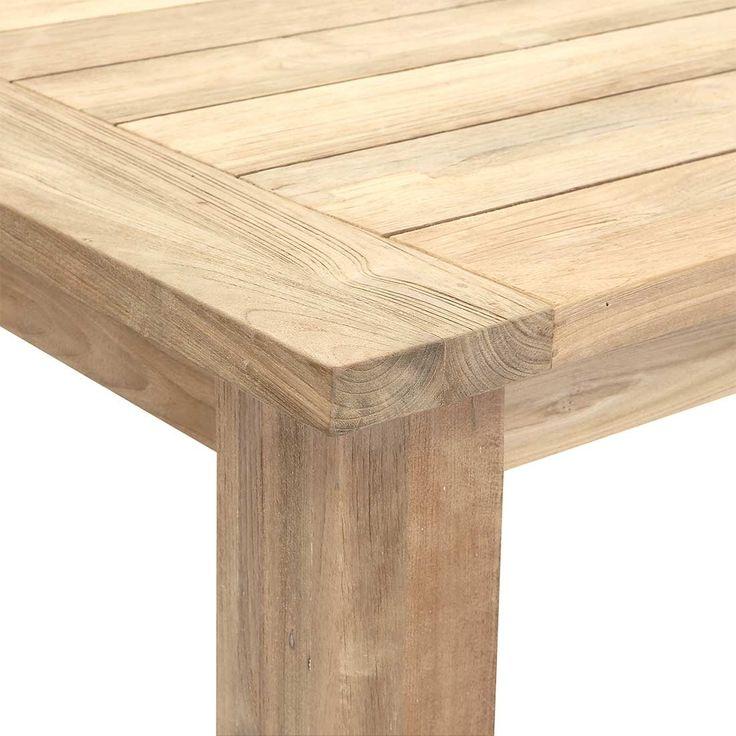 Outliv Oxford Gartentisch 180x90cm Recycled Teak Teak Recycelt Teak Holz Teak Gartenmobel Holztisch Garten