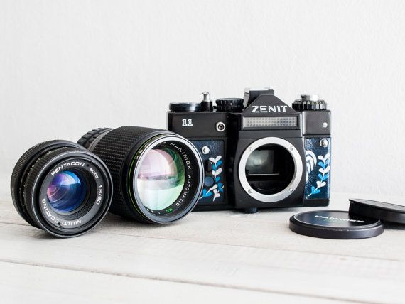Zenit 11 Lens of choice functional vintage 35 mm by FolkCamera