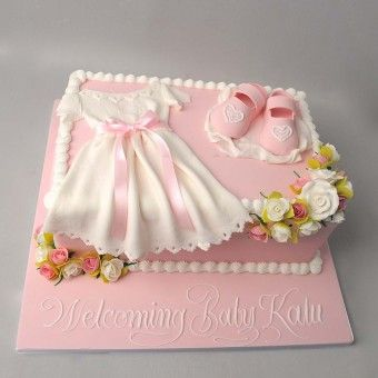 Baby dress cake pictures