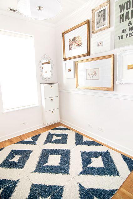 Flor Carpet Tiles - Sophistikat (Seen on Yellow Brick House)