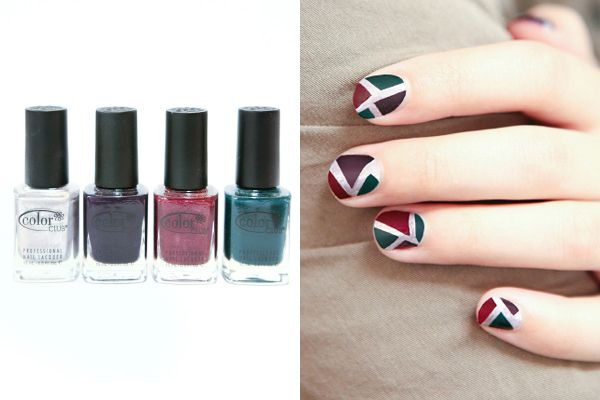 Stained Glass Nail Polish Tutorial | Refinery 29