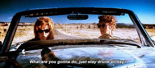 gif amigas viajando en coche