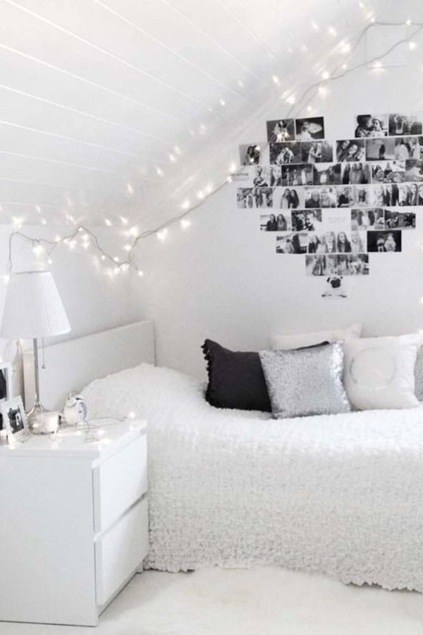 How To Decorate Your Room Without Buying Anything White Room