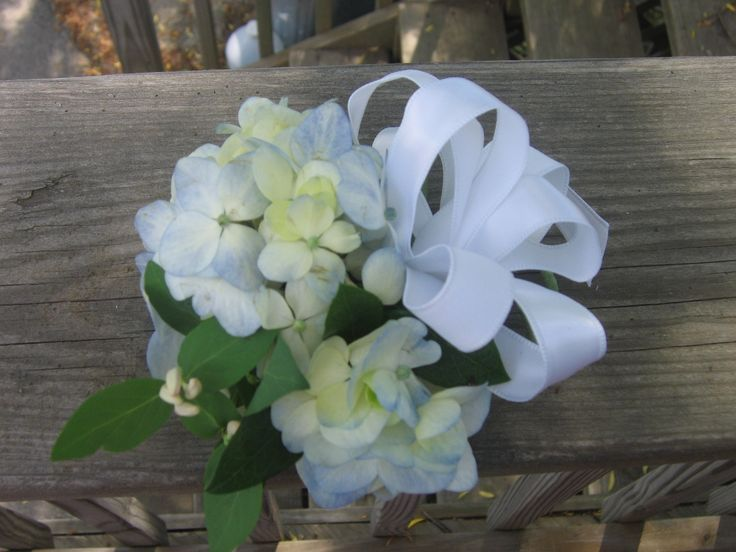 Image result for hydrangea corsage