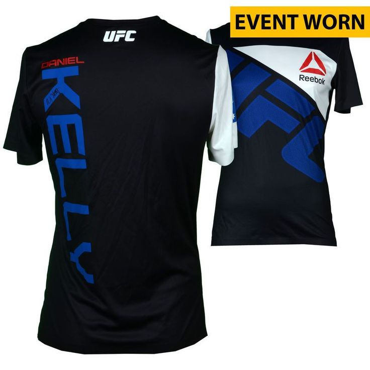 Daniel Kelly Ultimate Fighting Championship Fanatics Authentic Autographed UFC 193: Rousey vs. Holm Event-Worn Walkout Jersey - Defeated Steve Montgomery via Unanimous Decision