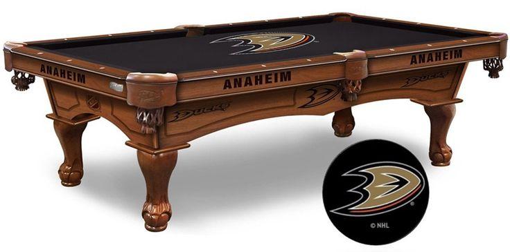 Anaheim Ducks NHL Logo Cloth Pool Table