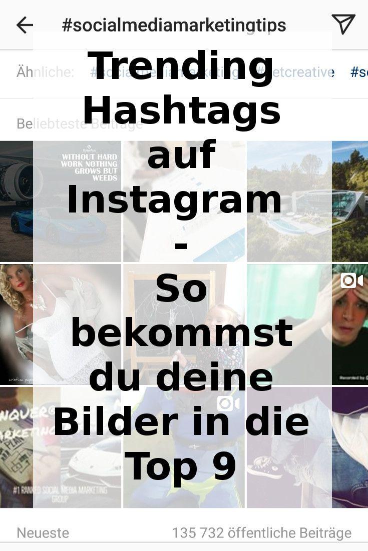 """Wie schafft man es eigentlich auf Instagram mt seinen Bildern in den """"Beliebtesten Beiträgen"""" angezeigt zu werden. Hier ein paar Tipps!"""