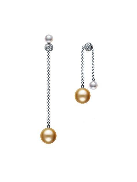 Pearls in Motion Earrings
