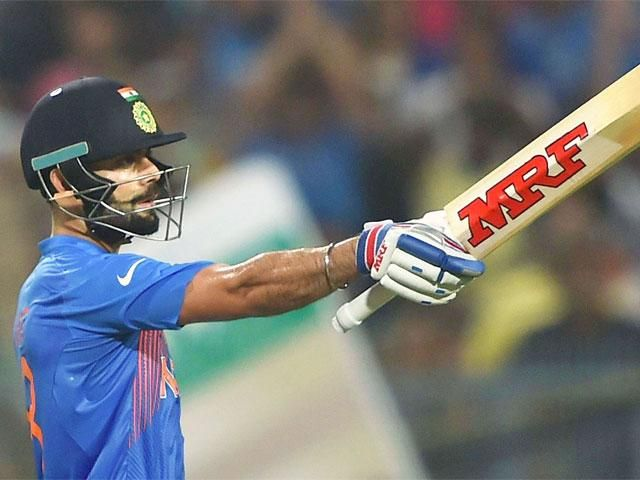 Day in pics : Virat Kohli reacts during the ICC T20 World cup match at Eden Garden in Kolkata - March 20, 2016 - The Economic Times