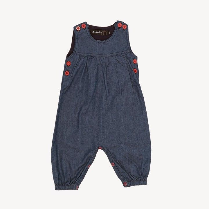 Wing Overall - Pink/Denim/5050