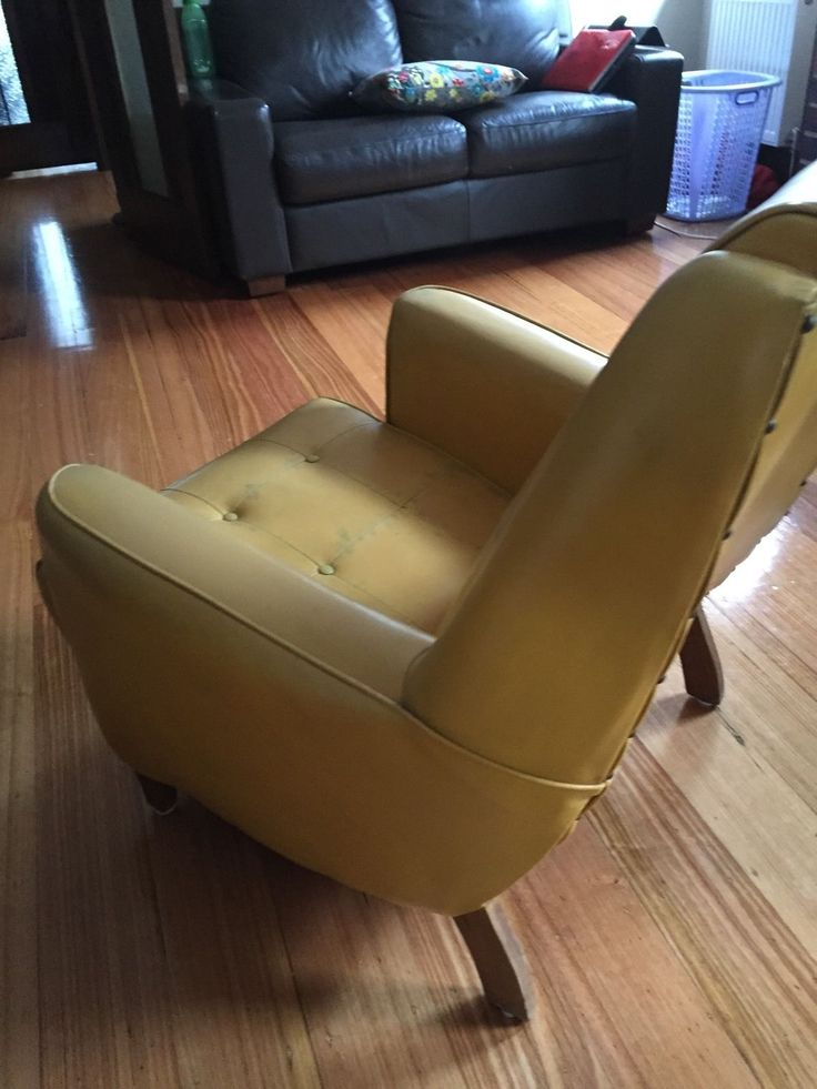 Good ART Deco Chair Sleepy Hollow This Chair Is A Great Colour. Sunshine Yellow,  In
