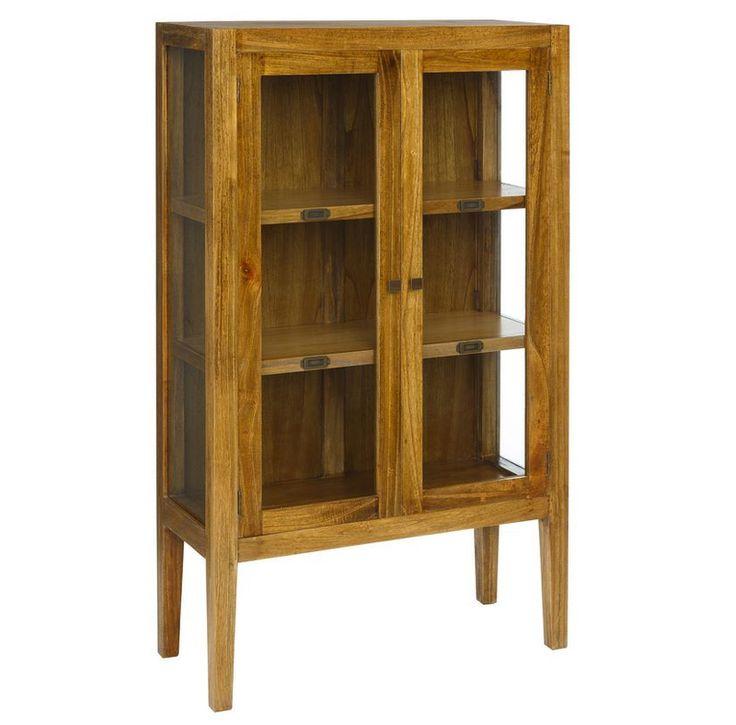 Las 25 mejores ideas sobre vitrinas de madera en pinterest for Muebles para escaparates