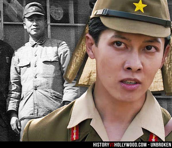 "Mutsuhiro Watanabe aka ""The Bird"" in real life and portrayed by Miyavi in the Unbroken movie. See 'Unbroken: History vs. Hollywood' - http://www.historyvshollywood.com/reelfaces/unbroken/"