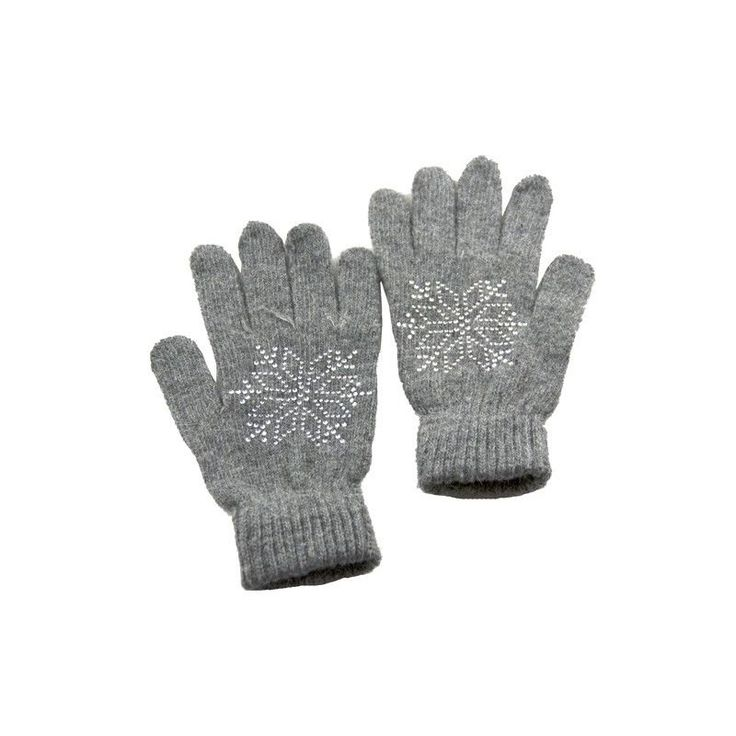 Women Soft Wool Blend Gray & Glitter Gloves One Size Fits Most NWT NEW #Simi #EverydayGloves #Everyday