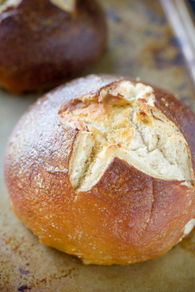 Fool Proof) Homemade Pretzel Bread | Recipe | Butter, Cheese and ...