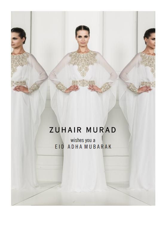 Zuhair Murad  Wishes you a Eid Adha Mubarak