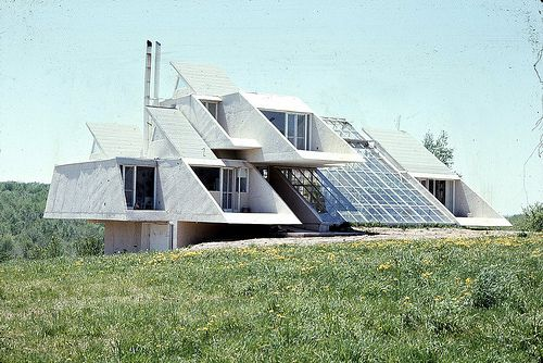 GREEN RESIDENCE by Architect Paul Rudolph