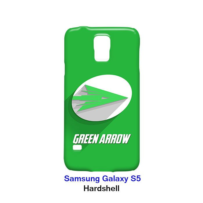 Green Arrow Logo Superhero Samsung Galaxy S5 Hardshell Case