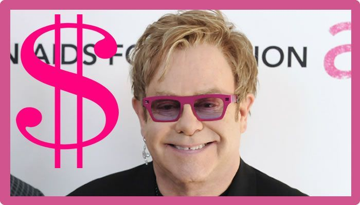 Elton John Net Worth #EltonJohnNetWorth #EltonJohn #gossipmagazines