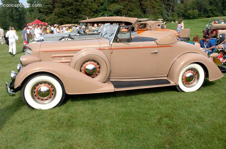 1934 Oldsmobile Series L (Eight) Convertible Coupe