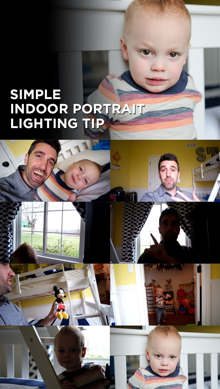 Ever wonder how to get sharper, cleaner, more colorful results when taking portraits indoors. You'd be surprised at how natural light can help improve the look. In this episode, I'll show you a simple lighting tip for indoor situations. My son provides some lighthearted entertainment as I try to place him near a window. If you're a Mom or Dad, you'll find this episode especially funny and helpful.   Subscribe to my channel on YouTube…