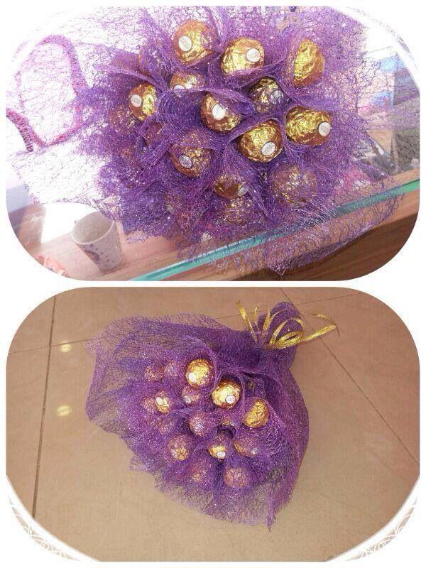 Ferrero rocher bouquet.