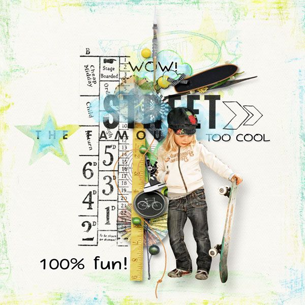 "kit  ""On chalkboard: All Boy"" by Palvinka http://shop.scrapbookgraphics.com/Palvinka-Designs/ Photo by Henulka"