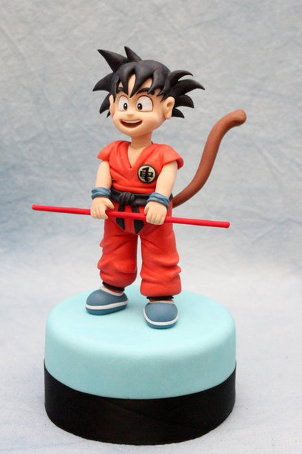 Dragonball  Cake by cesare