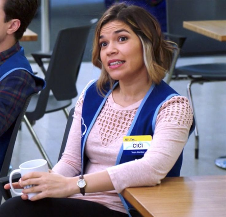 """A Running List Of All The Name Tags Amy From """"Superstore"""