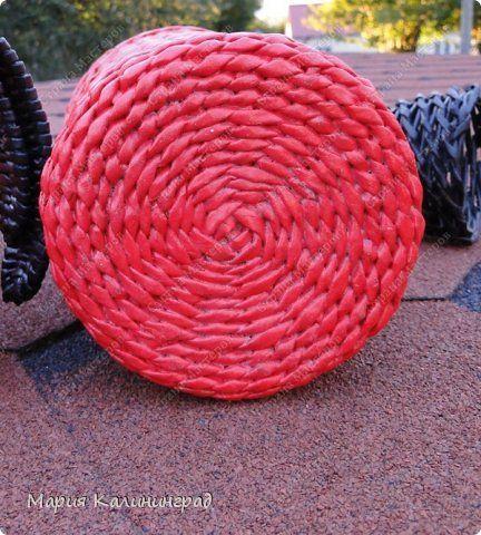 Мастер-класс Поделка изделие Плетение Мк круглого донышка Бумага газетная Трубочки бумажные фото 1