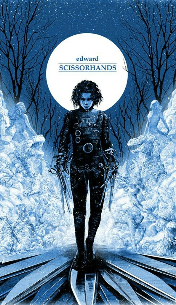 Edward Scissorhands With Images Edward Scissorhands