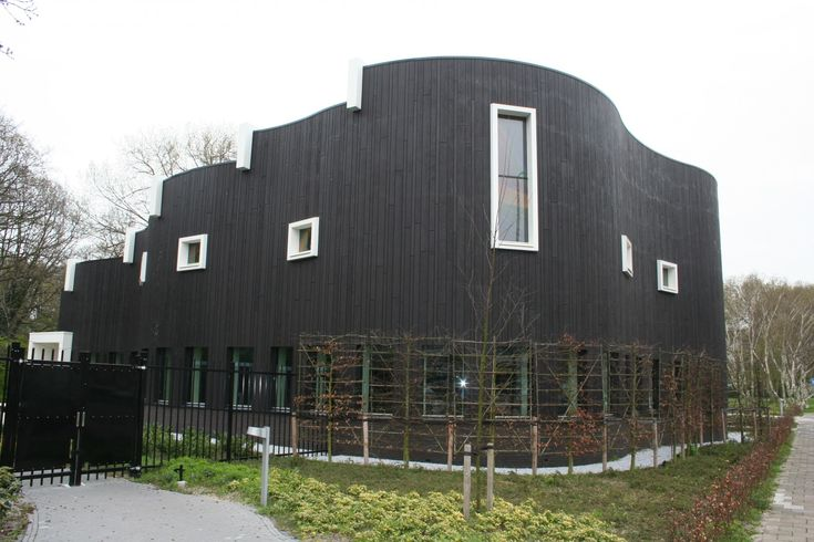 Dutch Church - Accoya   Accoya :: exterior siding, interior wall cladding, ceiling cladding & millwork made with extremely durable, Accoya Wood  All Accoya® products are FSC certified and come with a 50-year warranty on the wood when used above ground; 25-year warranty when used at/below ground level.
