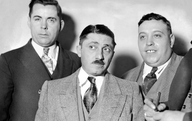 """Frank """"The Enforcer"""" Nitti was Al Capone's second in command, overseeing the gang's bootlegging activities in Chicago. Nitti took over Capone's Chicago operation after the Mafia king's imprisonment in 1932."""