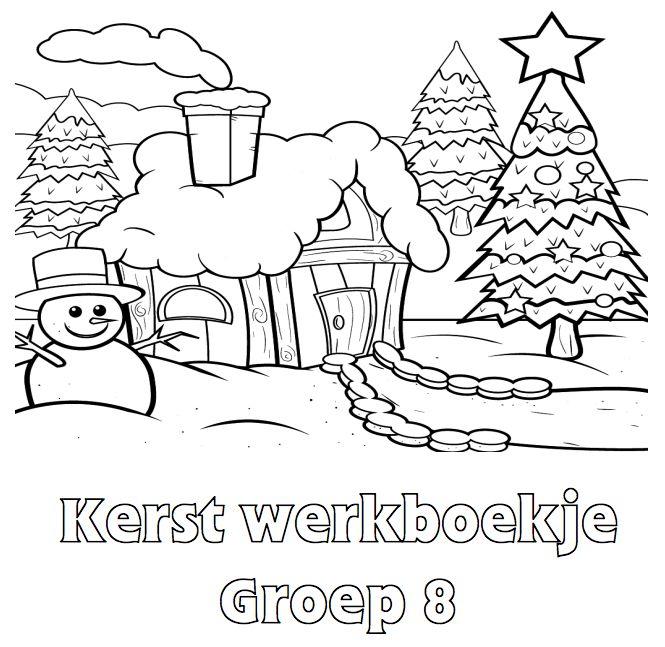 Kerst Werkboekje Groep 8