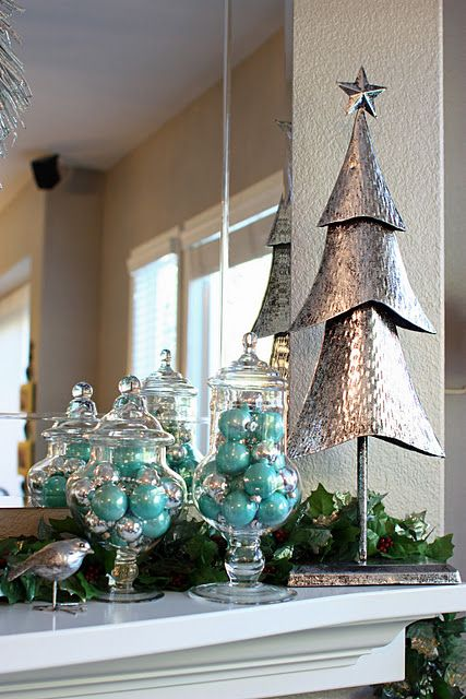 Christmas Tree Decorations Poundland : Best silver christmas decorations ideas on