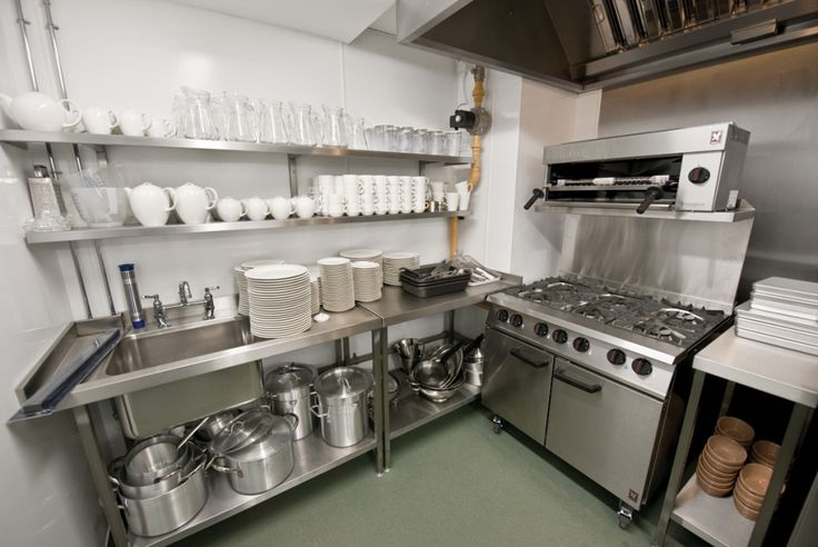 Maneuvering In Small Kitchen Spaces Http://www.tigerchef.com/blog/small  Kitchen/462 | Chef Blogs | Pinterest | Commercial Kitchen, Restaurant  Kitchen And ...