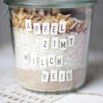 Mhhhontags-Rezept: Milchreis mit Apfel, Zimt & Zucker to go – Soulfood für kranke Freunde oder auch einfach einen selbst