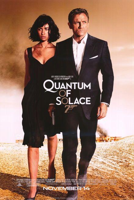 Quantum of Solace Huge Movie Posters & Banners  (James Bond; Daniel Craig, Olga Kurylenko)