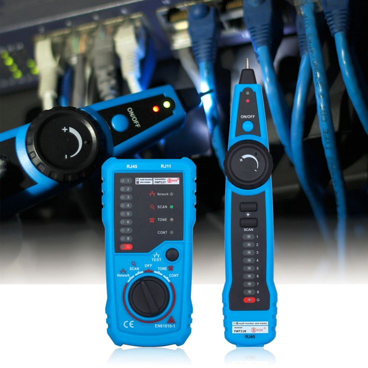 Top Quality BSIDE FWT11 Handheld Multi-functional RJ45 RJ11 Network Wire Tracker Tester In stock! Best Selling