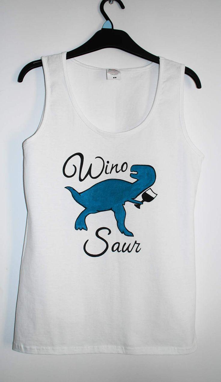 funny tshirts,womens tshirts,graphic tee,Women's Clothing,top,sale,white tee,winosaur tshirt,wino saur,gift for her,birthday tshirt,donosaur by EvienArt on Etsy