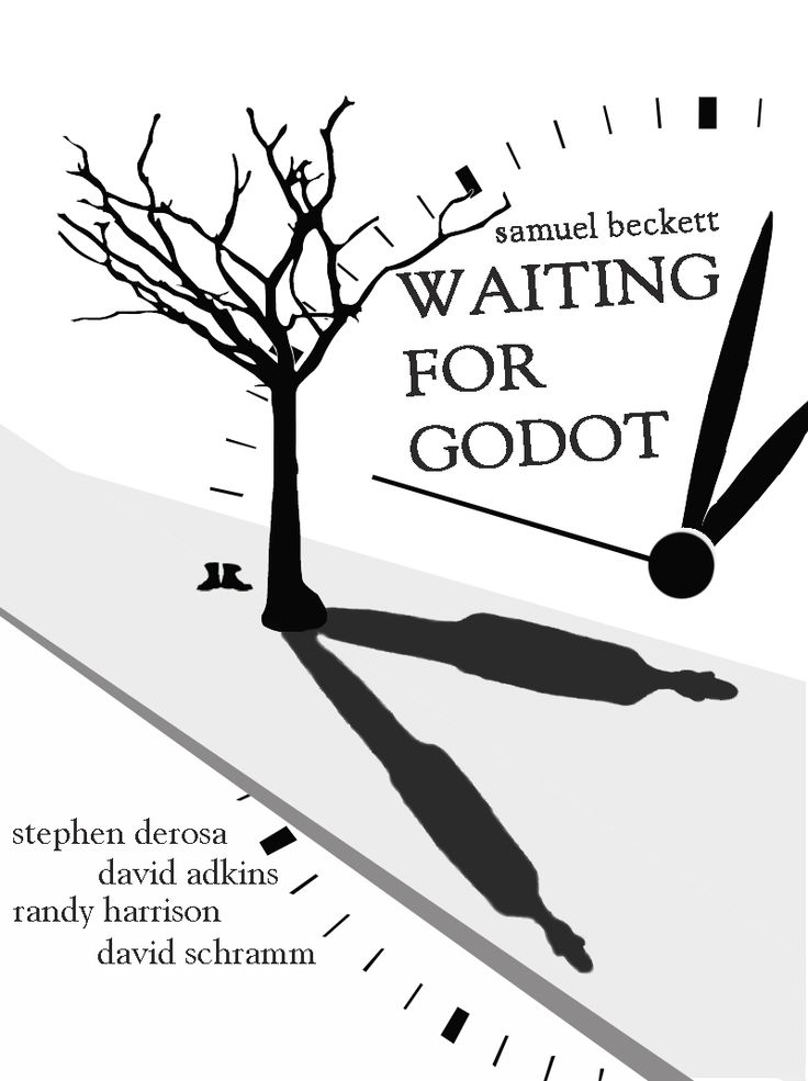 """Waiting For Godot"" by Samuel Beckett   #Poster"