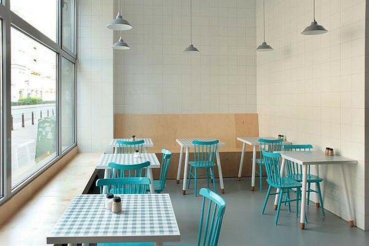 Interior Design Magazine: Bar Prasowy by Sojka & Wojciechowski is a 21st century take on the classic milk bar. #InteriorDesignMagazine #Design #SojkaWojciechowski #Warsaw #milkbar #Poland
