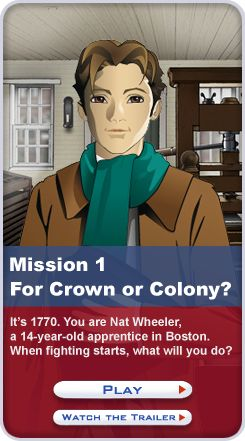 Mission US: An Interactive Way to Learn History