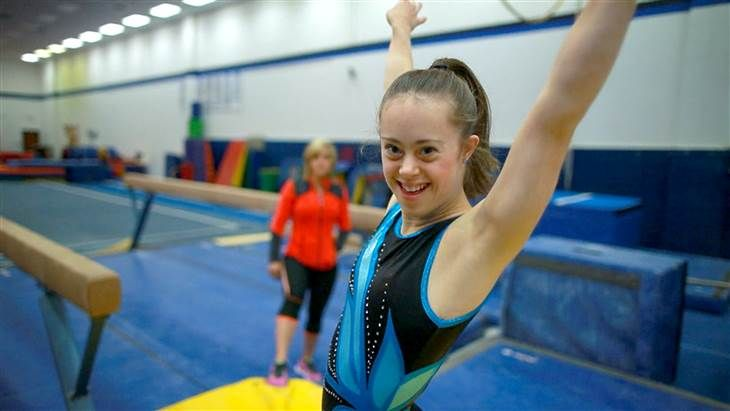 """Love this! You go, girl! (""""Champion gymnast with Down syndrome overcomes obstacles, inspires others"""")"""